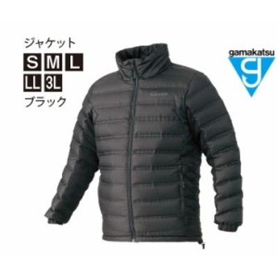 がまかつ ダウンジャケット GM-3605 ブラック Lサイズ / 防寒着 ウェア (お取り寄せ商品) 【送料無料】