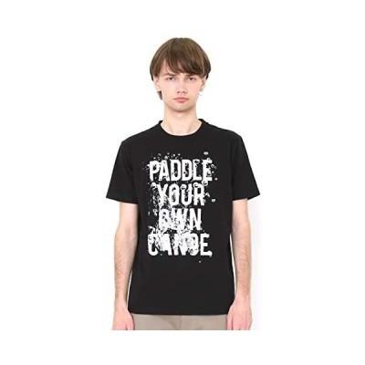 (グラニフ) graniph Tシャツ/パドル ユア オウン カヌー (ブラック) メンズ レディース (g100) (ブラック XS)