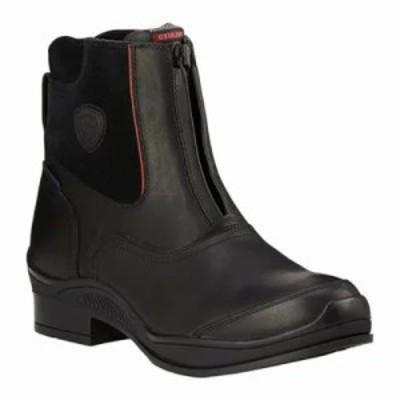 アリアト ブーツ Extreme Zip Paddock H2O Insulated Boot Black Full Grain Leather/Suede