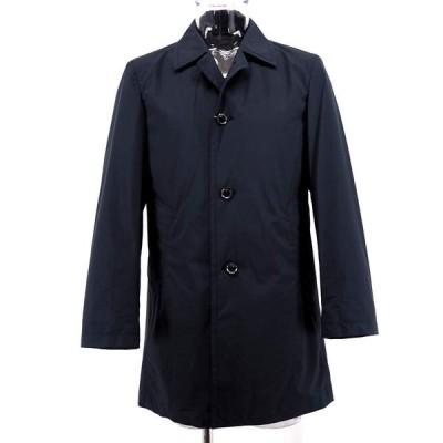 Vittorio Carini ステンカラーコート ハーフコートー 撥水 ポリエステル M/L/LL メンズ ファッション 服 カジュアル 春夏