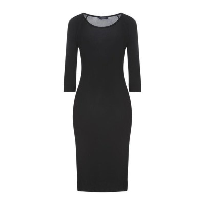 PIAZZA SEMPIONE チューブドレス  レディースファッション  ドレス、ブライダル  パーティドレス ブラック