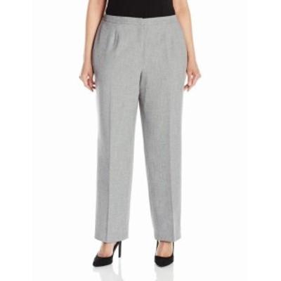 ファッション パンツ Kasper NEW Gray Womens Size 22W Plus Classic Fit Dress Pants Stretch