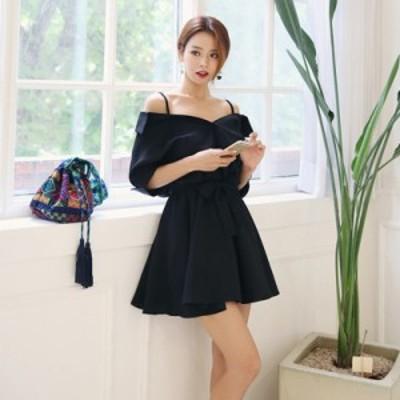 【L~4XL】 大きいサイズ レディース セクシー ドレス 夏 ミニ スカート 半袖 スリム フィット ベルト 3l 4l
