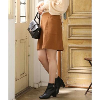 スカート 台形ミニスカート