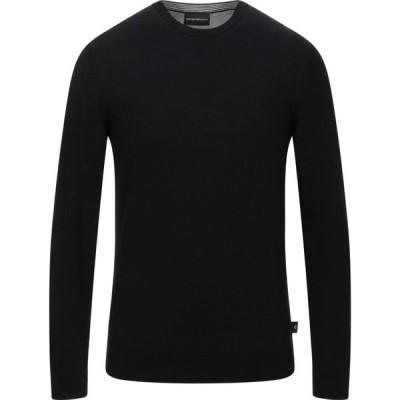 アルマーニ EMPORIO ARMANI メンズ ニット・セーター トップス sweater Black
