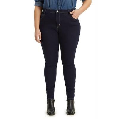 リーバイス レディース デニムパンツ ボトムス Plus Size High Rise Skinny Indigo Atlas Jeans