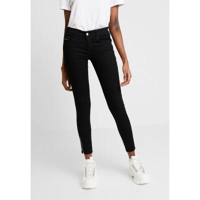 ディーゼル デニムパンツ レディース ボトムス SLANDY LOW ZIP - Jeans Skinny Fit - black