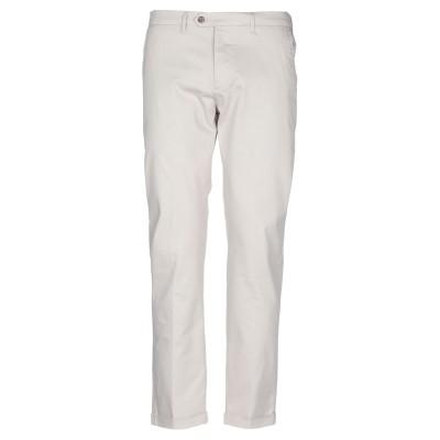 オークス OAKS パンツ ライトグレー 35 コットン 97% / ポリウレタン 3% パンツ