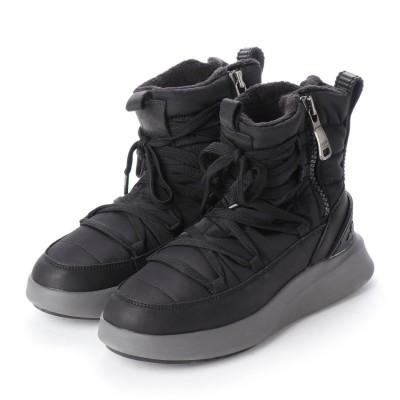 パジャール Pajar EXO LIGHT NY F PUFF レディース防水防寒ブーツ ブラック (BLACK)