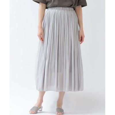MAYSON GREY/メイソングレイ 【socolla】消しプリーツスカート ネイビー M
