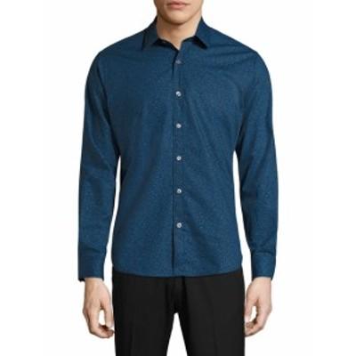 ジェフ Men Clothing Albany Floral Sportshirt
