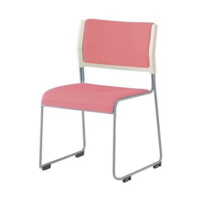 スタッキングチェア ライタス ミーティングチェア 会議用椅子 会議椅子 会議用チェア ループ脚 打ち合わせ 会議室 セミナー 布張り 肘なし 会議イス LTS-110P-F