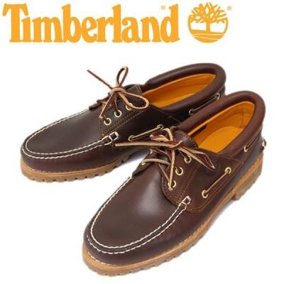 Timberland (ティンバーランド) 30003 Authentics 3Eye Classic Lug (オーセンティクス スリーアイ クラシック ラグ) ブラウン プルアップル TB010