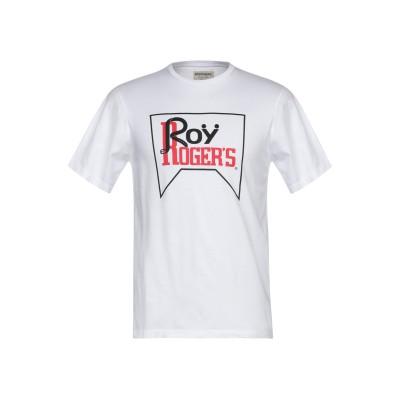 ロイ ロジャース ROŸ ROGER'S T シャツ ホワイト XXS コットン 100% T シャツ