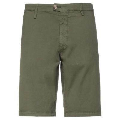 ALLEY DOCKS 963 ショートパンツ&バミューダパンツ  メンズファッション  ボトムス、パンツ  ショート、ハーフパンツ ミリタリーグリーン