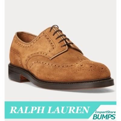 ポロ  ラルフローレン  ウィングチップシューズ  メンズ  アーモンド型  コルク  インソール  本革  靴  新作  RL