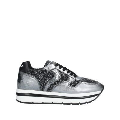 VOILE BLANCHE スニーカー&テニスシューズ(ローカット) 鉛色 40 革 / 紡績繊維 スニーカー&テニスシューズ(ローカット)