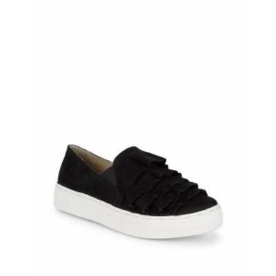 セーシェル レディース シューズ スニーカー Slip-On Suede Ruffle Sneakers