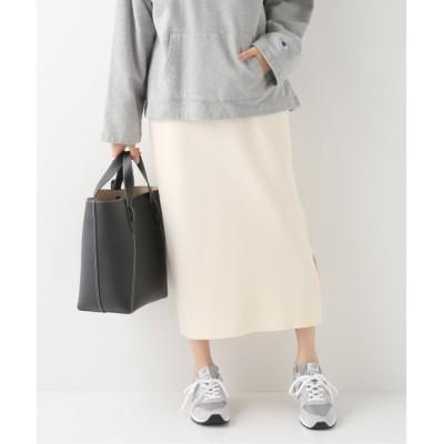 【イエナ/IENA】 VIS/P ミラノリブスカート