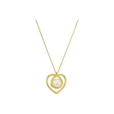 ケイトスペード Infinite Hearts Pendant Necklace レディース ネックレス Cream/Gold