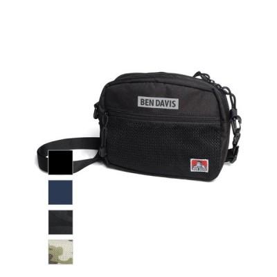 BEN DAVIS ベンデイビス ショルダーバッグ バッグ ショルダー ストラップ 付け替え 通学 かわいい メッシュポケット サコッシュ ポーチ サブバッグ BDW-9253