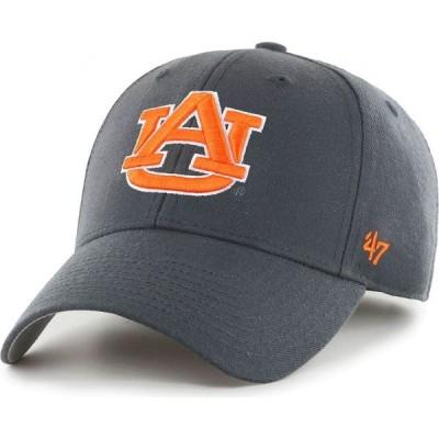 フォーティセブン 47 メンズ キャップ 帽子 Auburn Tigers Grey MVP Adjustable Hat