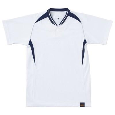 ジュニアベースボールシャツBOT740J  ZETT ゼット ヤキュウソフトJRセカンダリーシャツ (BOT740JA-1129)