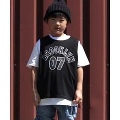 ADORU KIDS(アドルキッズ)BIGサイズ バスケタンクトップ 【お取り寄せ商品】