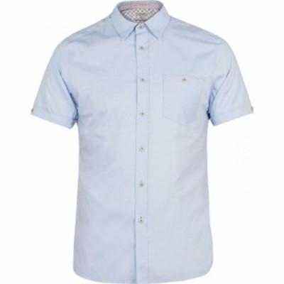テッドベーカー Ted Baker メンズ シャツ ワイシャツ トップス Ss Oxford Shirt Blue
