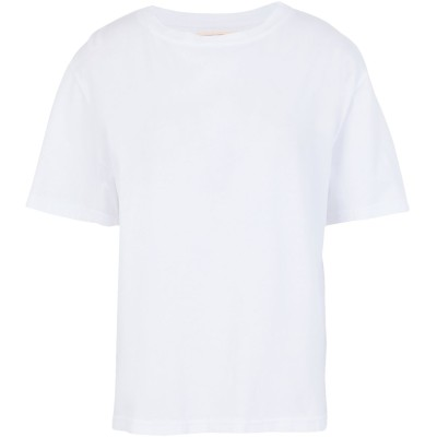 JEANERICA T シャツ ホワイト XS オーガニックコットン 100% T シャツ