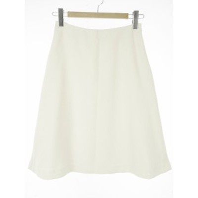 【中古】エムセブンデイズ M 7days スカート 2 白系 アイボリー系 ボトムス