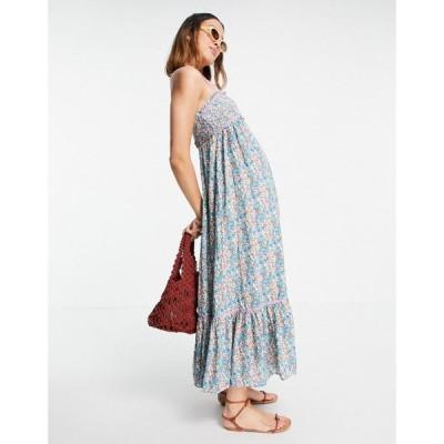 フリーピープル Free People レディース ワンピース キャミワンピ ワンピース・ドレス molly jo midi cami smock dress in blossom print