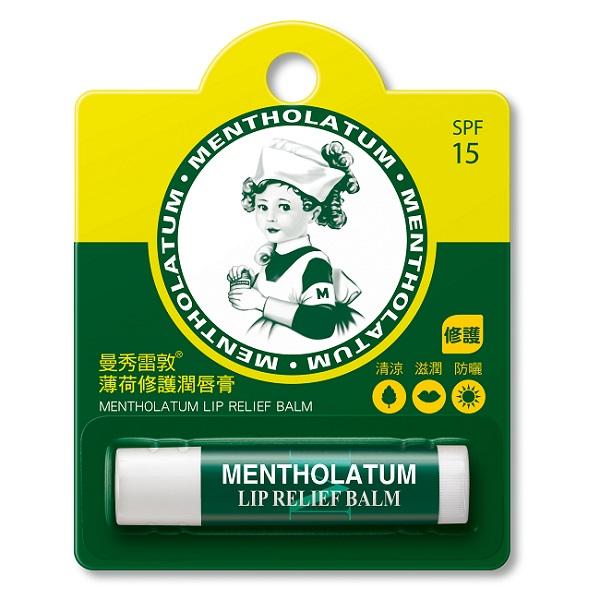 Mentholatum 曼秀雷敦薄荷修護潤唇膏