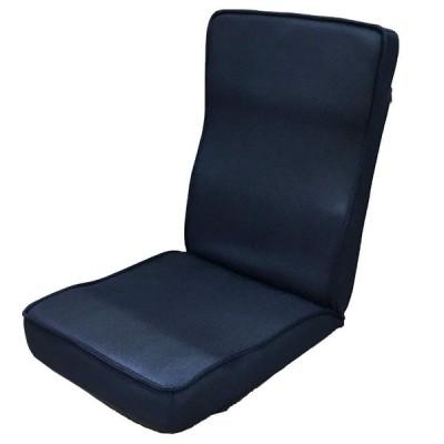 コーナン オリジナル 低反発ハイバック座椅子 ネイビー