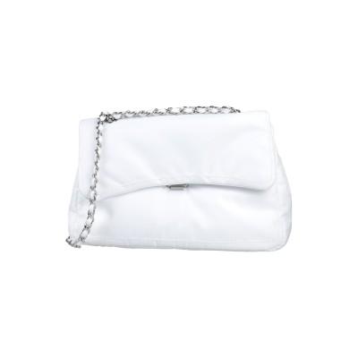 MIA BAG メッセンジャーバッグ ホワイト ポリエステル 100% メッセンジャーバッグ