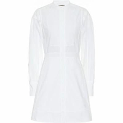 バーバリー Burberry レディース ワンピース シャツワンピース ワンピース・ドレス Cotton shirt dress Optic White