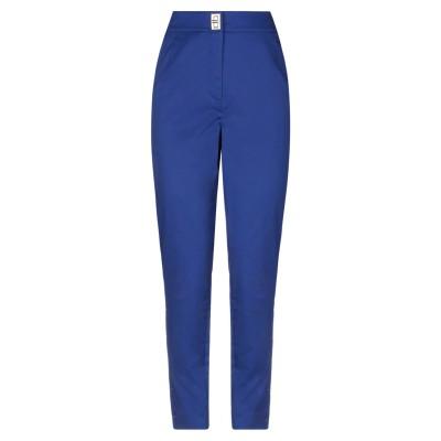 BOUTIQUE MOSCHINO パンツ ブルー 40 コットン 98% / ポリウレタン 2% パンツ