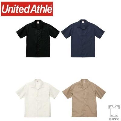 【5%オフクーポン】T/C オープンカラー シャツ ユナイテッドアスレ United Athle 1759-01