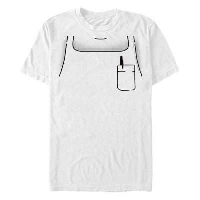 フィフスサン Tシャツ トップス メンズ Men's Bob's Burgers Bob Apron Short Sleeve T-shirt White