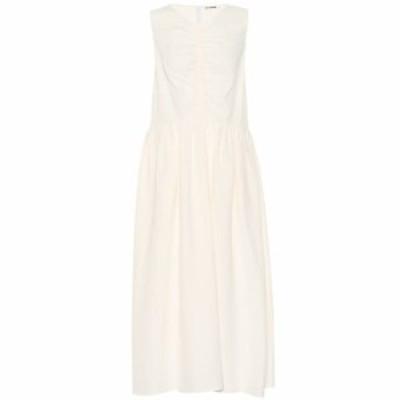 ジル サンダー Jil Sander レディース ワンピース ワンピース・ドレス Linen-blend dress Natural