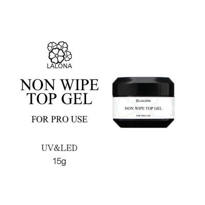 [LALONA] ノンワイプトップジェル ( 15g ) 化粧品登録済み サロン用ネイルジェル