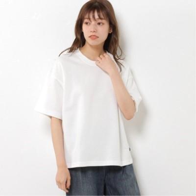 DRYドロップワイド半袖Tシャツ アイボリー M L XL
