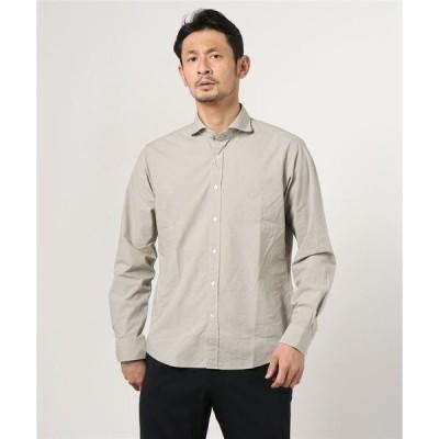 シャツ ブラウス SCROLL/スクロール/エアータイプライターシャツ