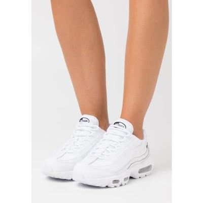 ナイキ レディース 靴 シューズ AIR MAX 95 - Trainers - white/black