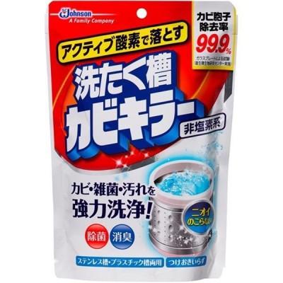 (まとめ)ジョンソン アクティブ酸素で落とす洗濯槽カビキラー250G 〔×5点セット〕