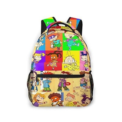 Rugrats Unisex Daypack Backpack For Girls Boys Women And Men【並行輸入品】