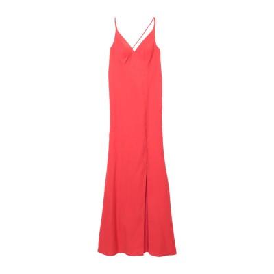 ALLURE ロングワンピース&ドレス レッド 8 ポリエステル 100% ロングワンピース&ドレス
