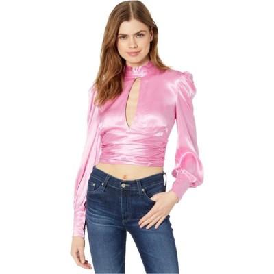 バルドー Bardot レディース ブラウス・シャツ トップス Louise Tie Top Vintage Pink
