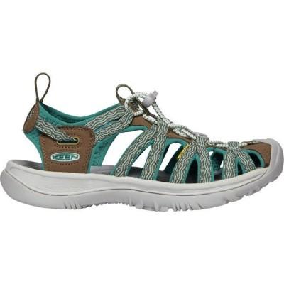 キーン サンダル シューズ レディース KEEN Women's Whisper Sandals Canton/Bayou