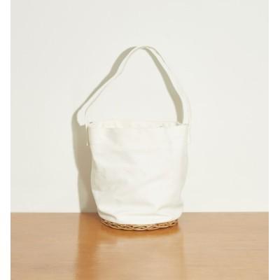 【ルージュ・ヴィフ ラクレ/Rouge vif la cle】 【Mi cesta】アルログキャンバス巾着トートバッグ
